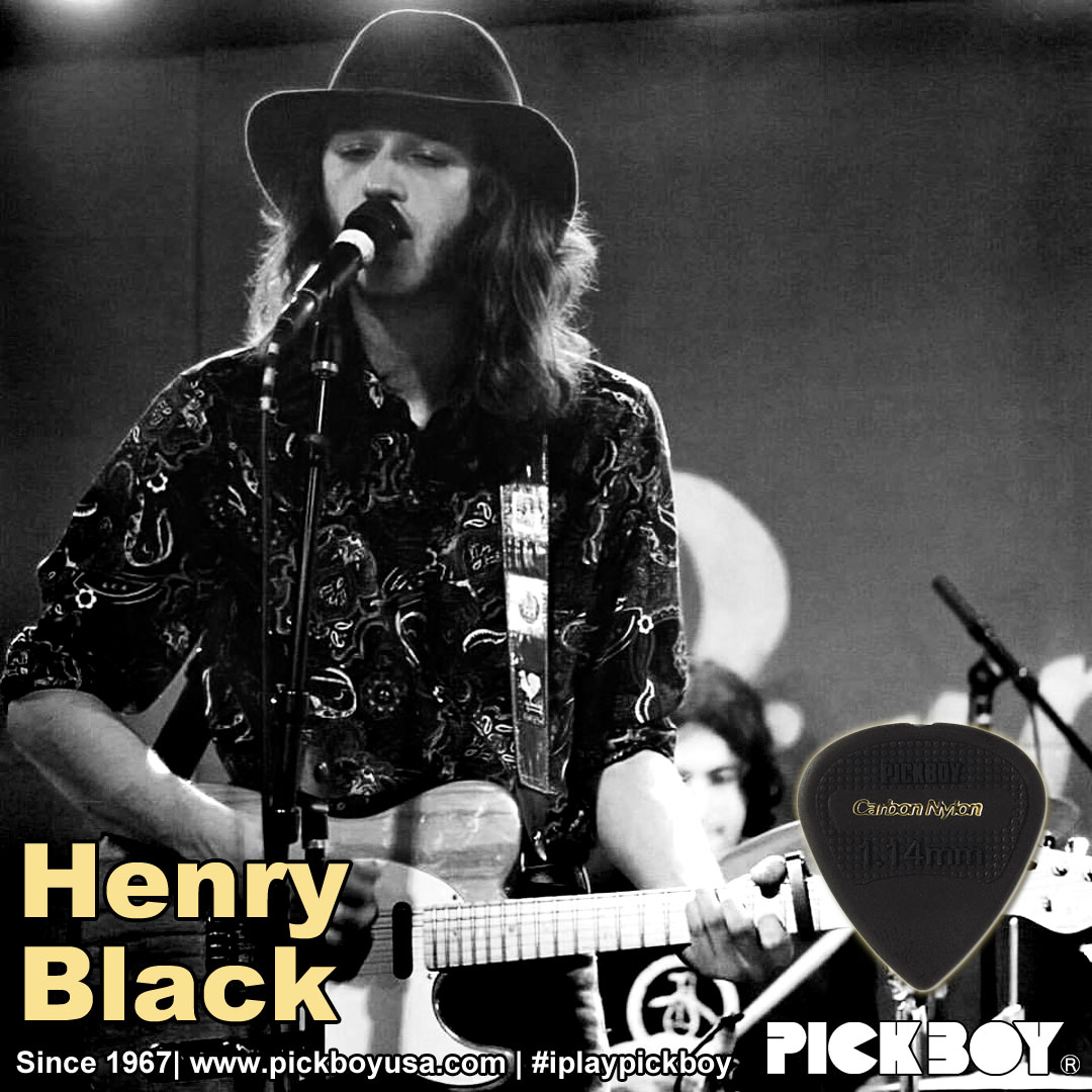 Henry Black, Pickboy endorser